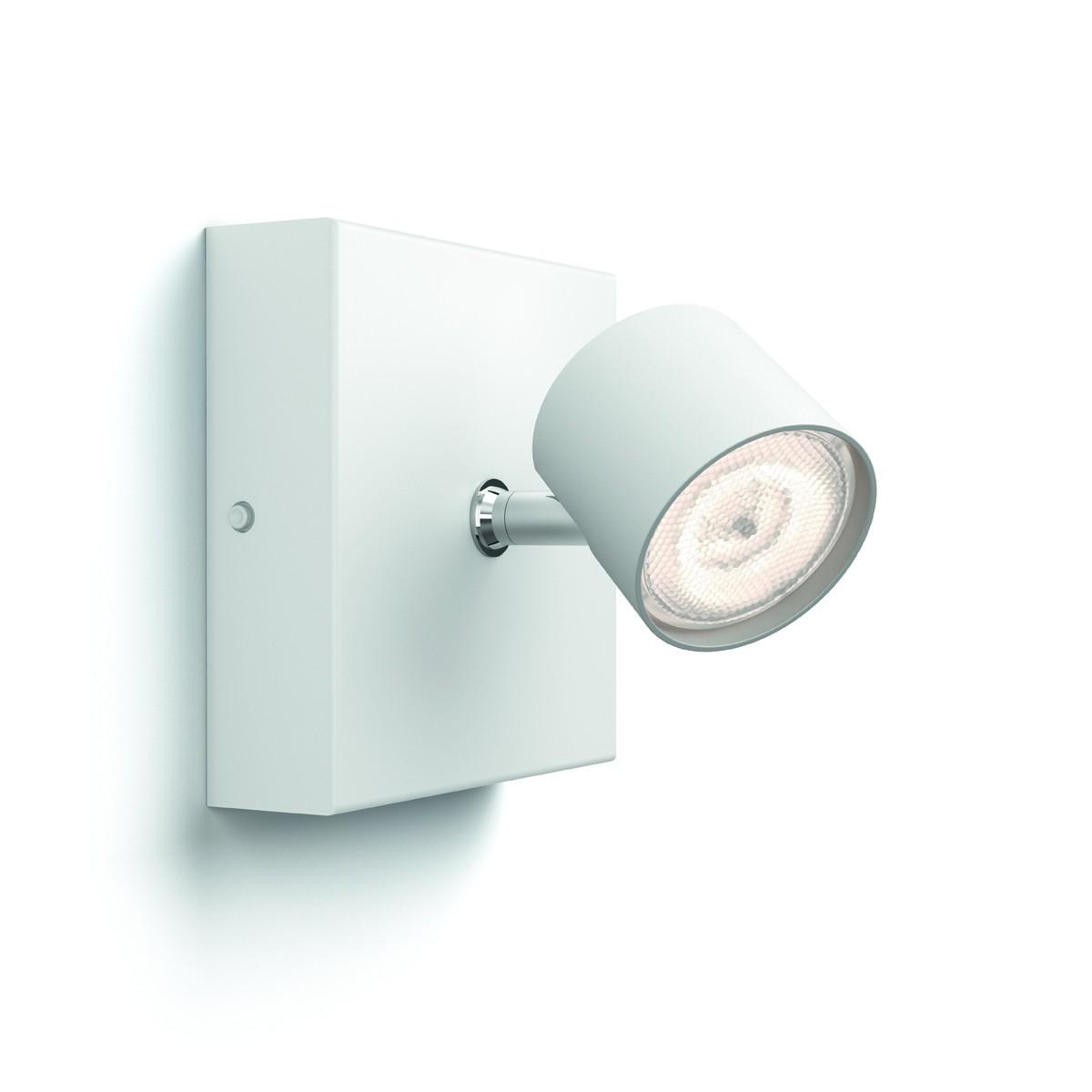 LED nástěnné bodové svítidlo Philips Massive Star Warmglow 56240/31/P0 - 1x4.5W - bílá