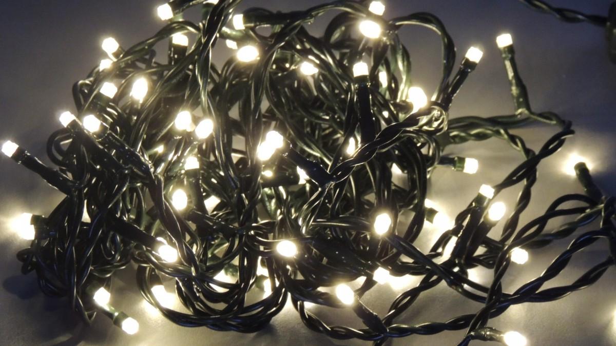 Světelný LED řetěz 33510