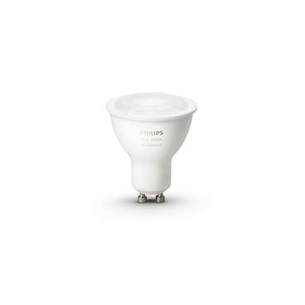 LED bodové světlo Philips Hue Ambiance 5.5W GU10