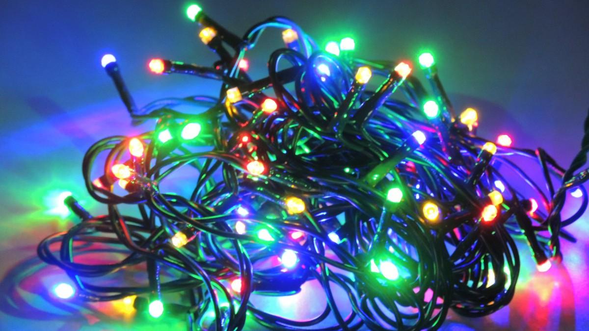 LED vánoční řetěz DL80M FA délka 7,9 m, IP20 - pro vnitřní použití
