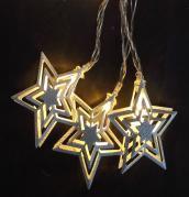 Světelný LED řetěz s hvězdičkami 33800