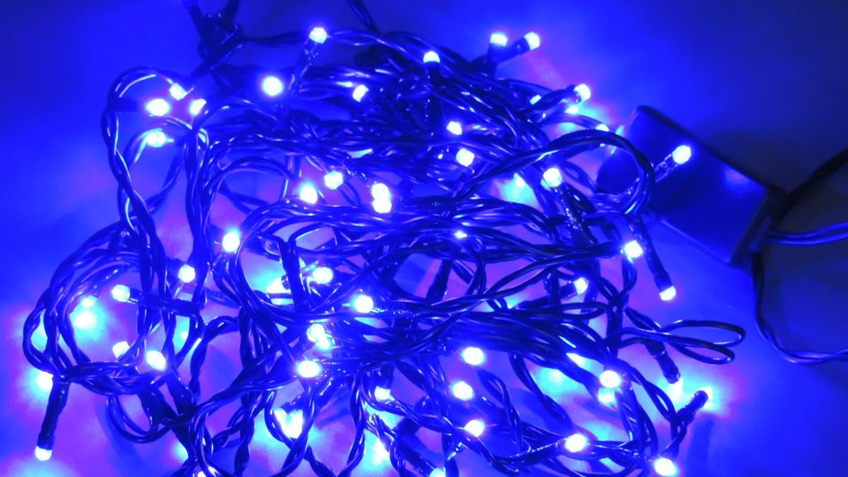 LED vánoční řetěz DL80B MO délka 7,9 m, IP20 - pro vnitřní použití