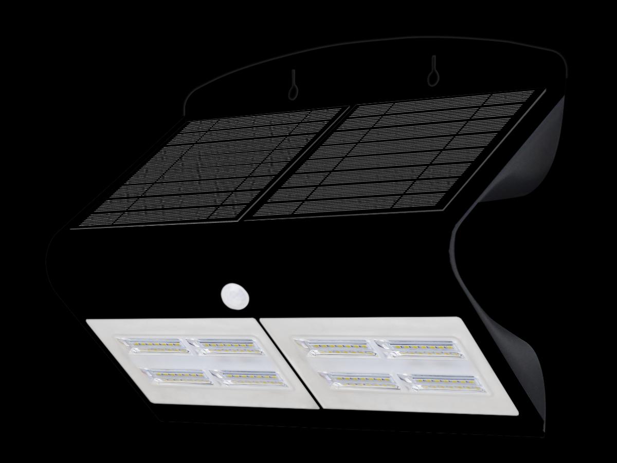 LED venkovní solární svítidlo Immax 08430L 6.8W - pohybové čidlo