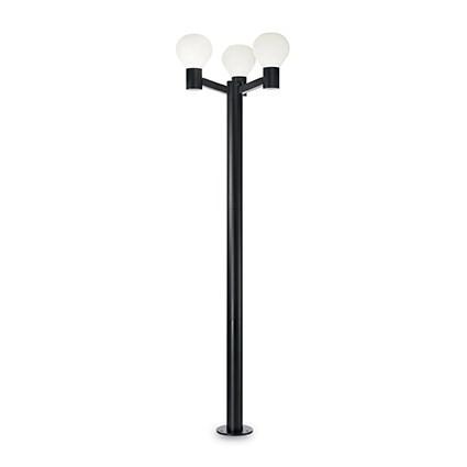 venkovní sloupek Ideal Lux Clio PT3 147147 3x60W E27 - komplexní osvětlení exterieru