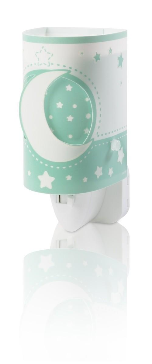 Dalber 63235LH LED dětská noční orientační lampička Moon Green 1x40W|E14 - zelené