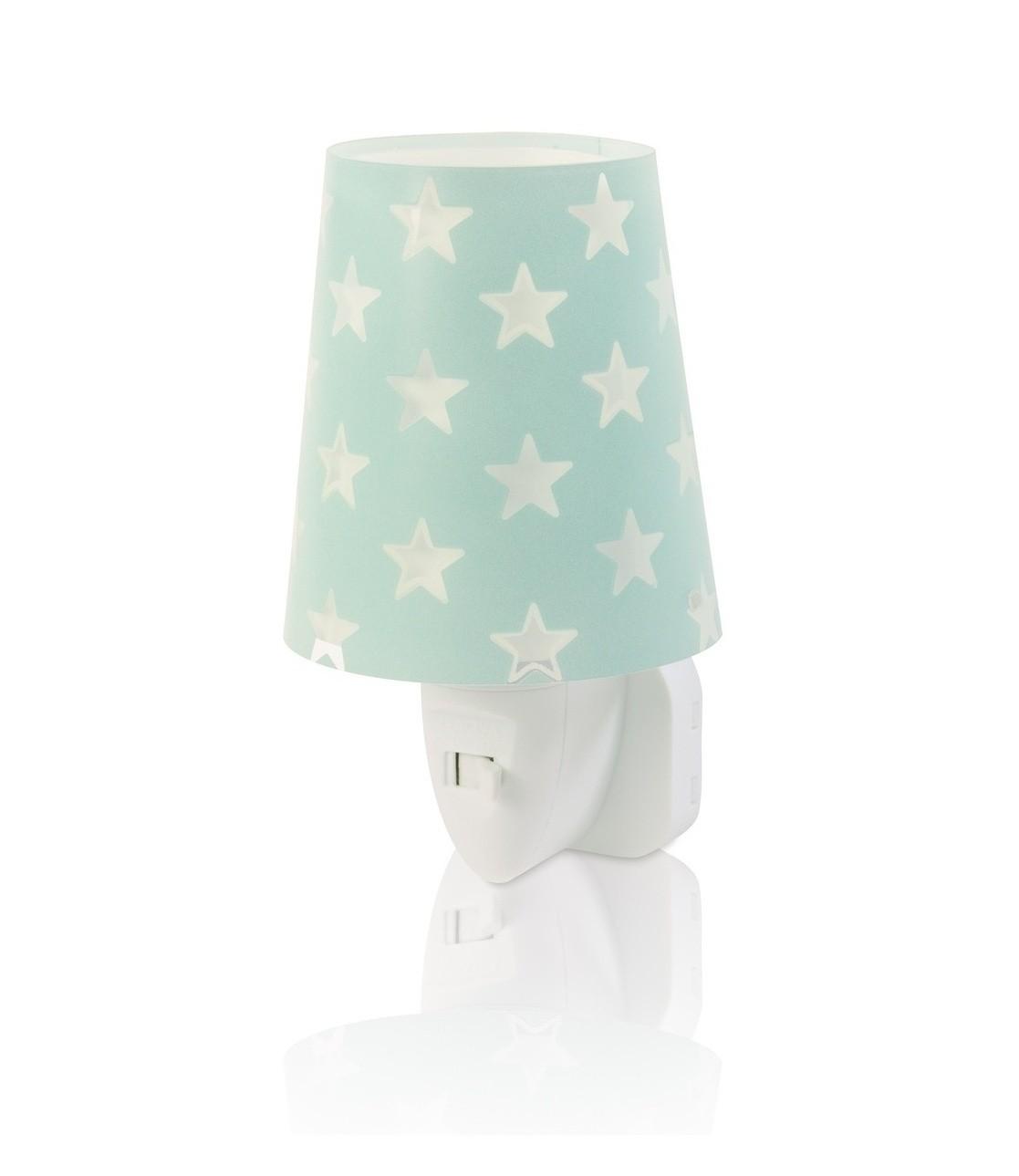 Dalber 81215H LED dětská noční orientační lampička Stars Green 1x0,3W|E14 - zelená
