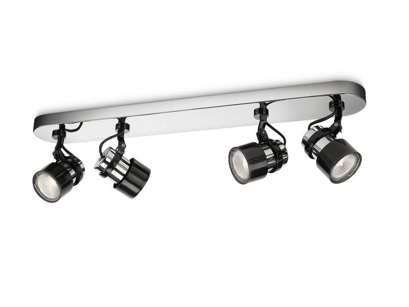 přisazené stropní svítidlo bodové Philips KONCE 56444/11/16 - lesklý chrom