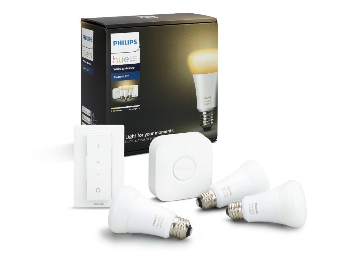 Inteligentní žárovky Philips HUE 3x 9,5W E27 - 8718696728925