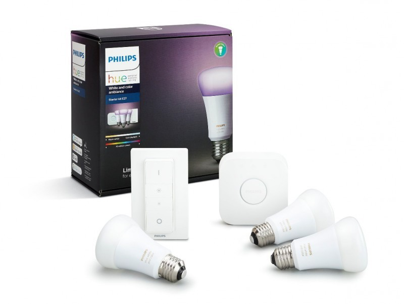 Inteligentní žárovky Philips HUE 10W E27 - 8718696728796 White and color ambiance
