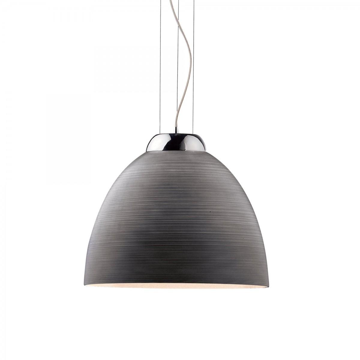 závěsné svítidlo - lustr Ideal lux Tolomeo 001821 SP1 1x100W E27 - šedá