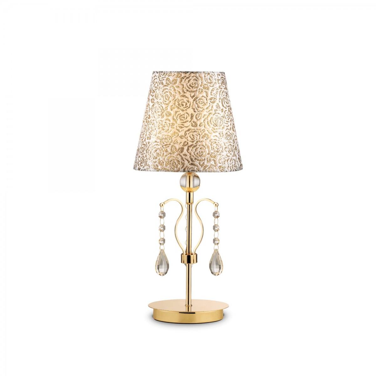 stolní lampa Ideal lux Pantheon TL1 088167 1x40W E14 - rustikální komplexní osvětlení