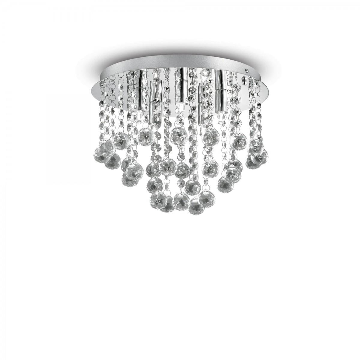 přisazené stropní svítidlo Ideal lux Bijoux PL5 089485 5x40W G9 - šperk domova