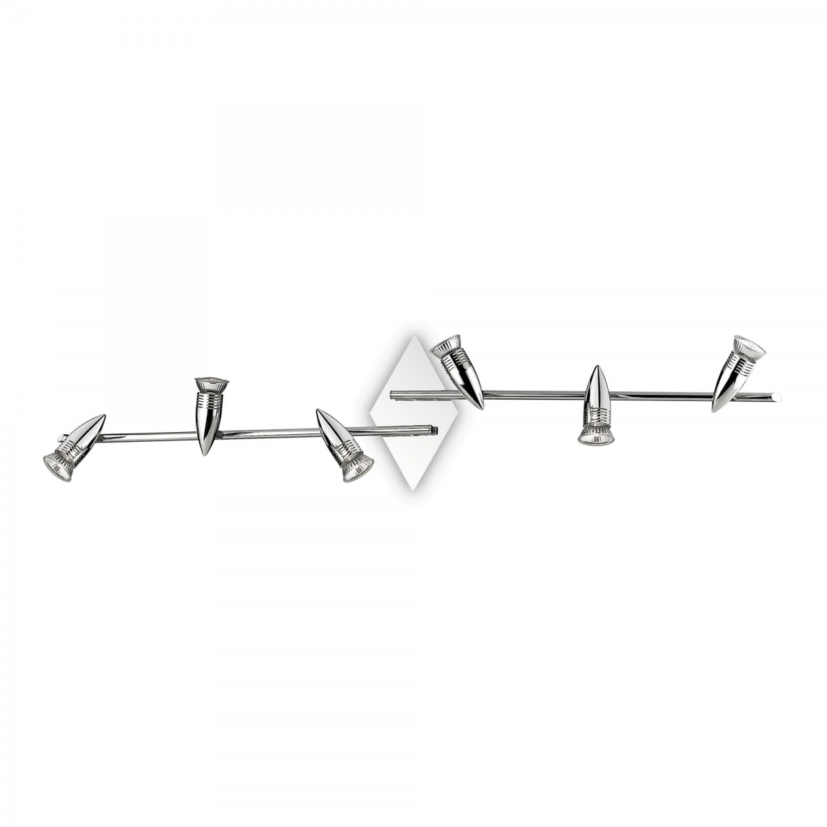 stropní svítidlo Ideal lux Alfa PB6 089591 6x50W GU10 - chrom
