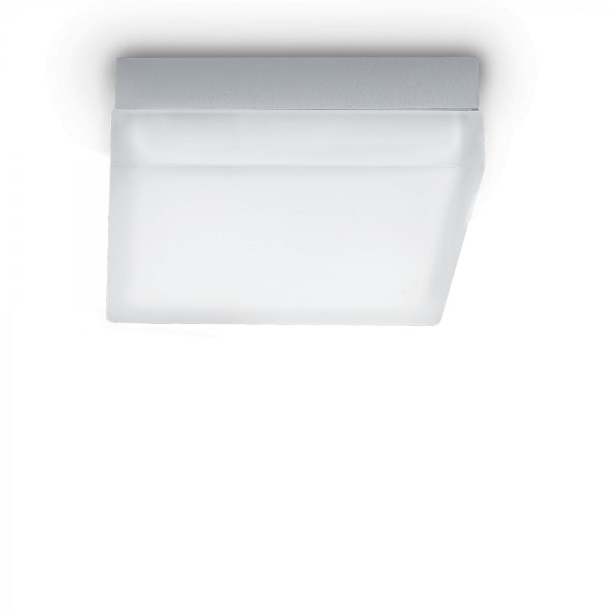 LED stropní svítidlo Ideal lux Iris PL1 104546 1x7W GX53 - jednoduchá elegance