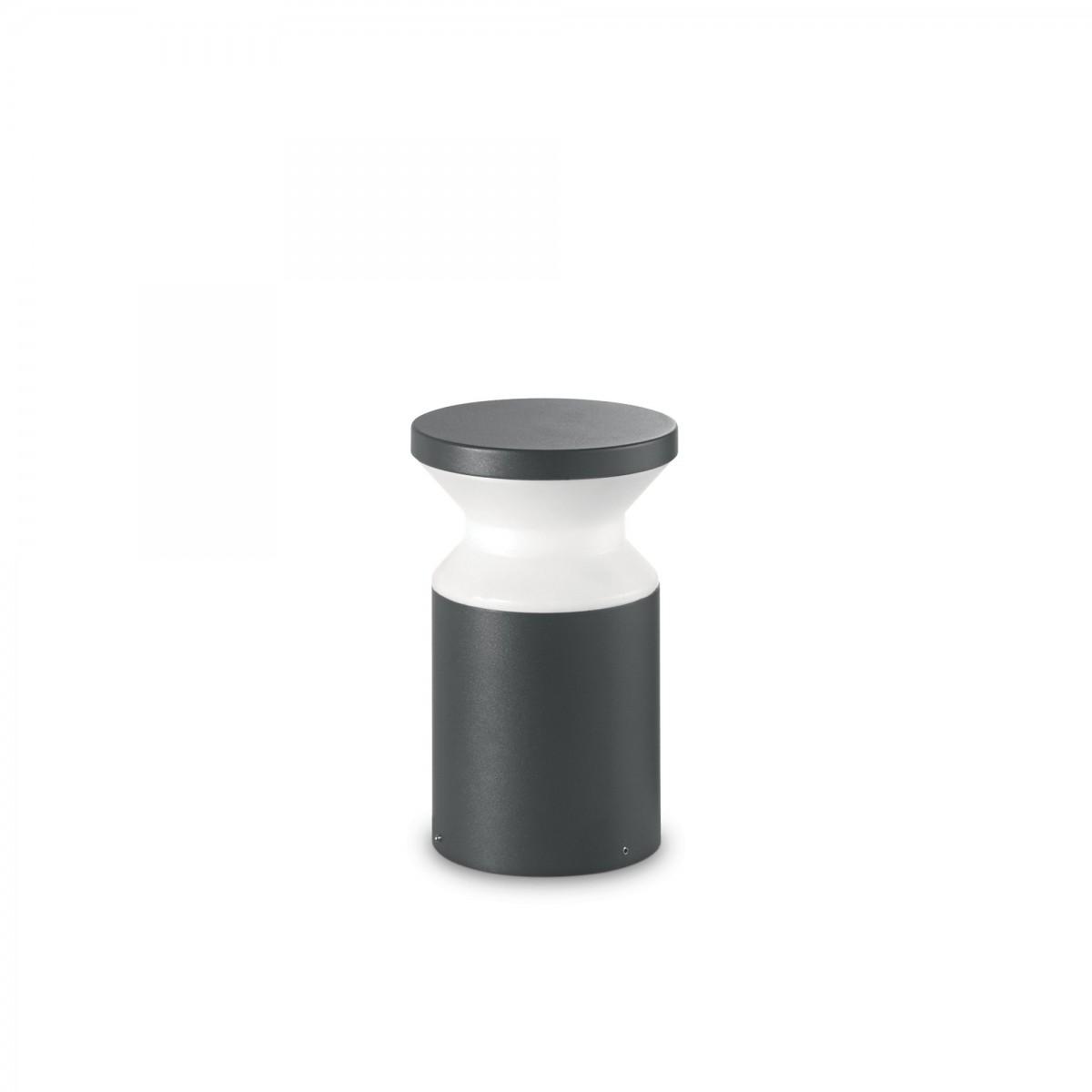 Ideal Lux 158891 venkovní lampa Torre Small Antracite 1x15W|E27|IP44 - černá