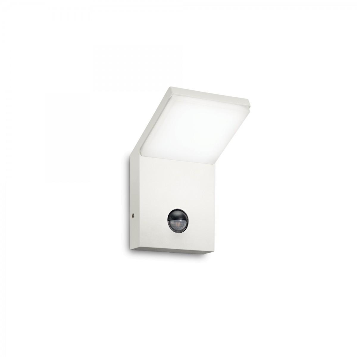 Ideal Lux 209852 LED venkovní nástěnné svítidlo s pohybovým čidlem Style 1x5W|4000K|IP54