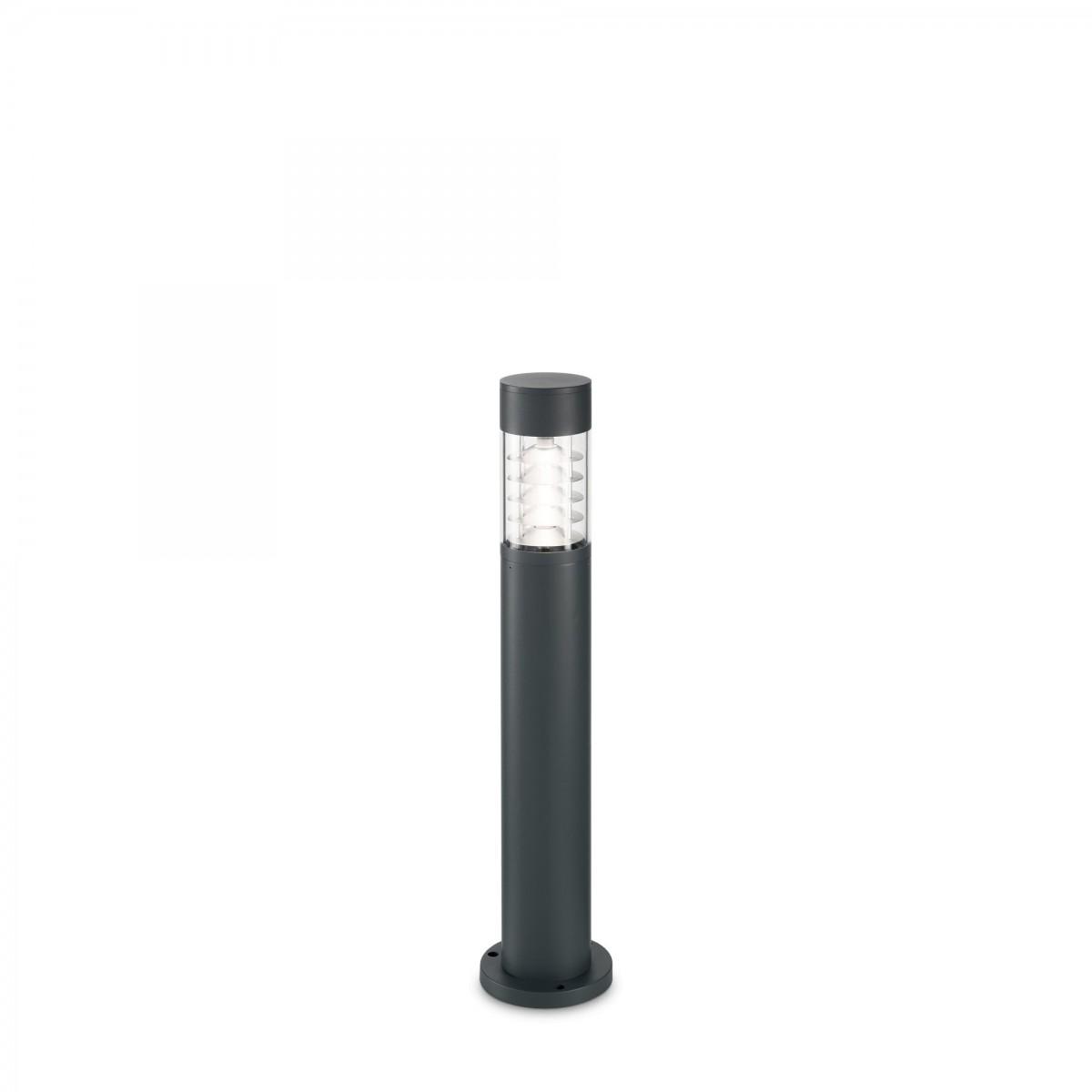 Ideal Lux 243481 zahradní sloupkové svítidlo Dema 1x60W | R7s | IP 54 - antracit
