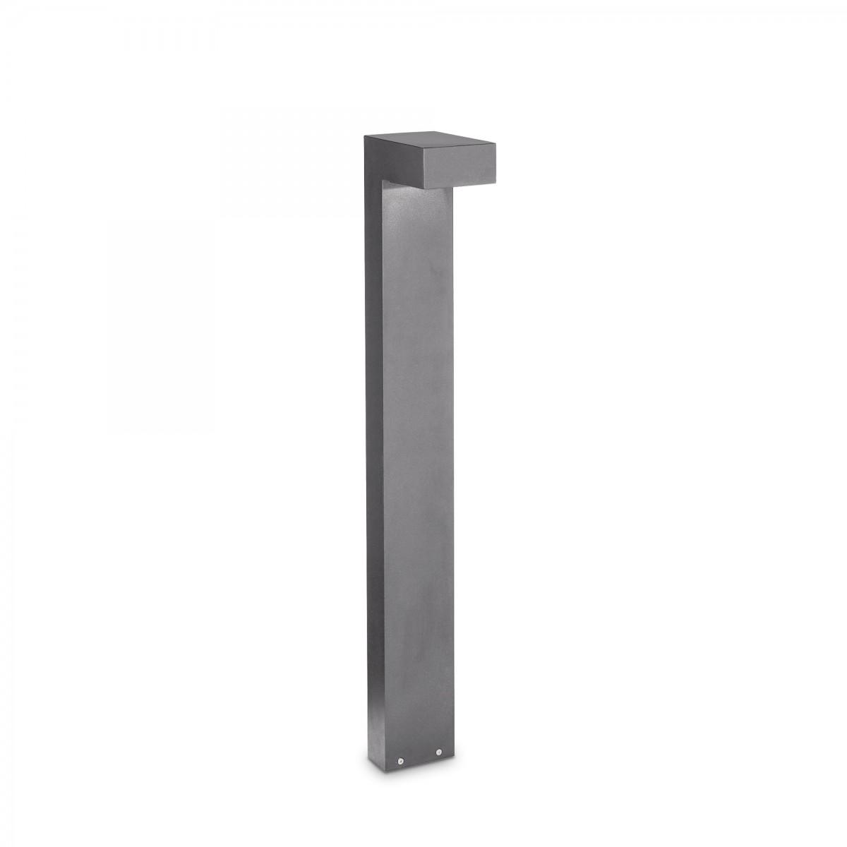 Ideal Lux 246963 zahradní sloupkové svítidlo Sirio Big 2x15W | G9 | IP44 - šedé