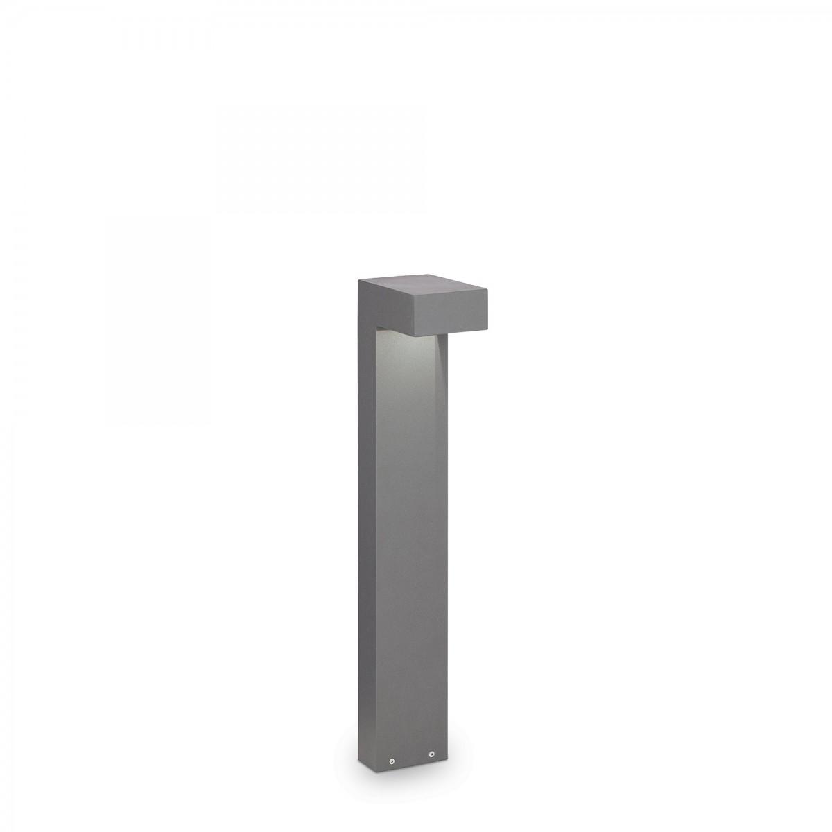 Ideal Lux 246970 zahradní sloupkové svítidlo Sirio Small 2x15W | G9 | IP44 - šedé