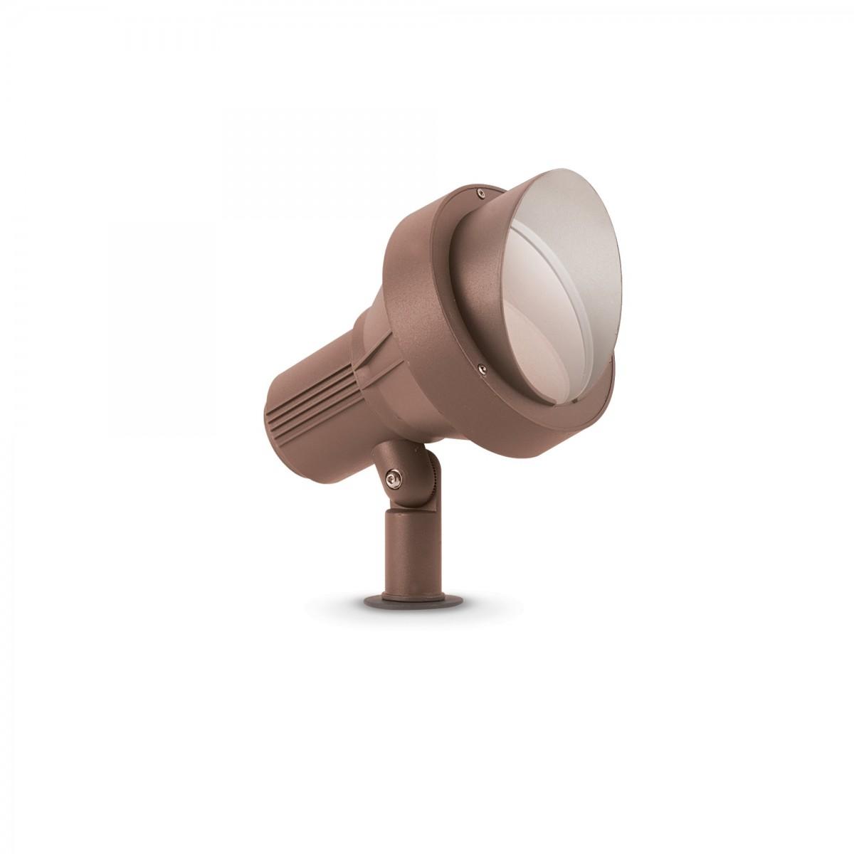 Ideal Lux 247038 zahradní bodová lampa k zapíchnutí Terra 1x60W | E27 | IP65 - kávová IdealLux 247038