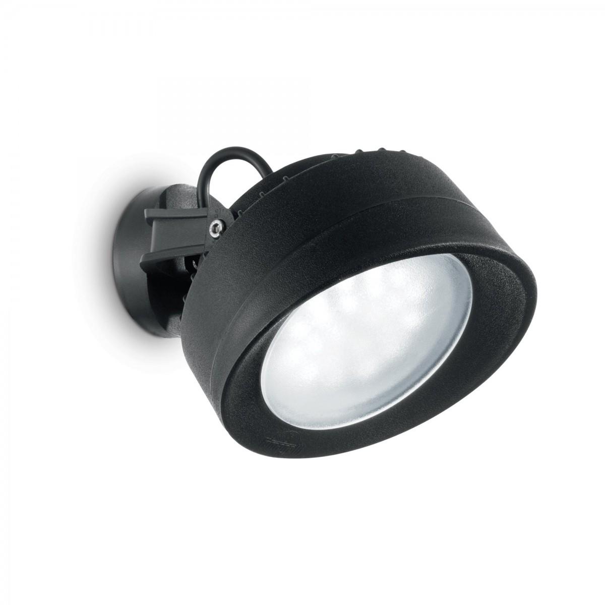 Ideal Lux 247168 LED venkovní nástěnná lampa Tommy 1x23W | 3000K | IP66 - černá IdealLux 247168