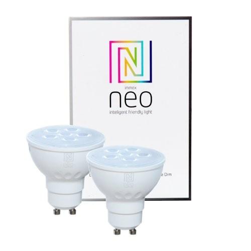 Immax NEO 07003B 2x LED žárovky 1x5W|GU10|2700K