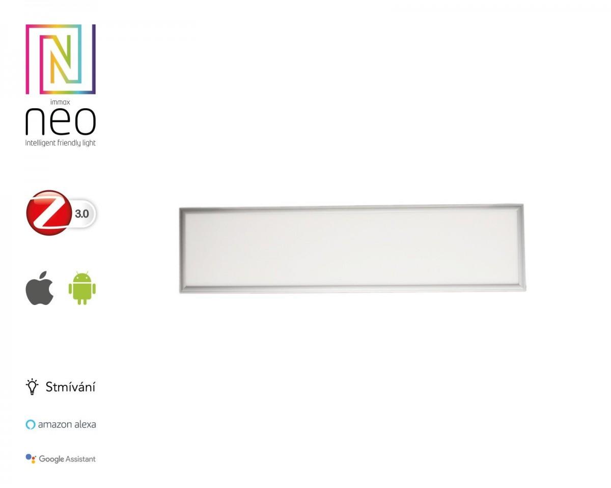 """Immax NEO""""TABLON"""" 07012KD Smart LED panel 300x1200mm 38W Zigbee Dim bílá"""