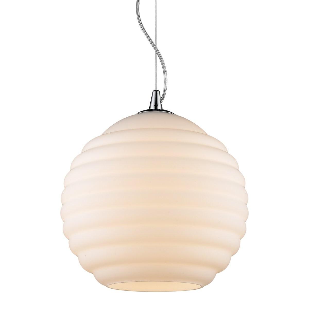 Italux 19047-1P-L-WH závěsné stropní svítidlo Encore 1x60W|E27