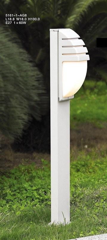 Italux 5161-1/100 ALU venkovní sloupek Decora 1x60W|E27|IP44