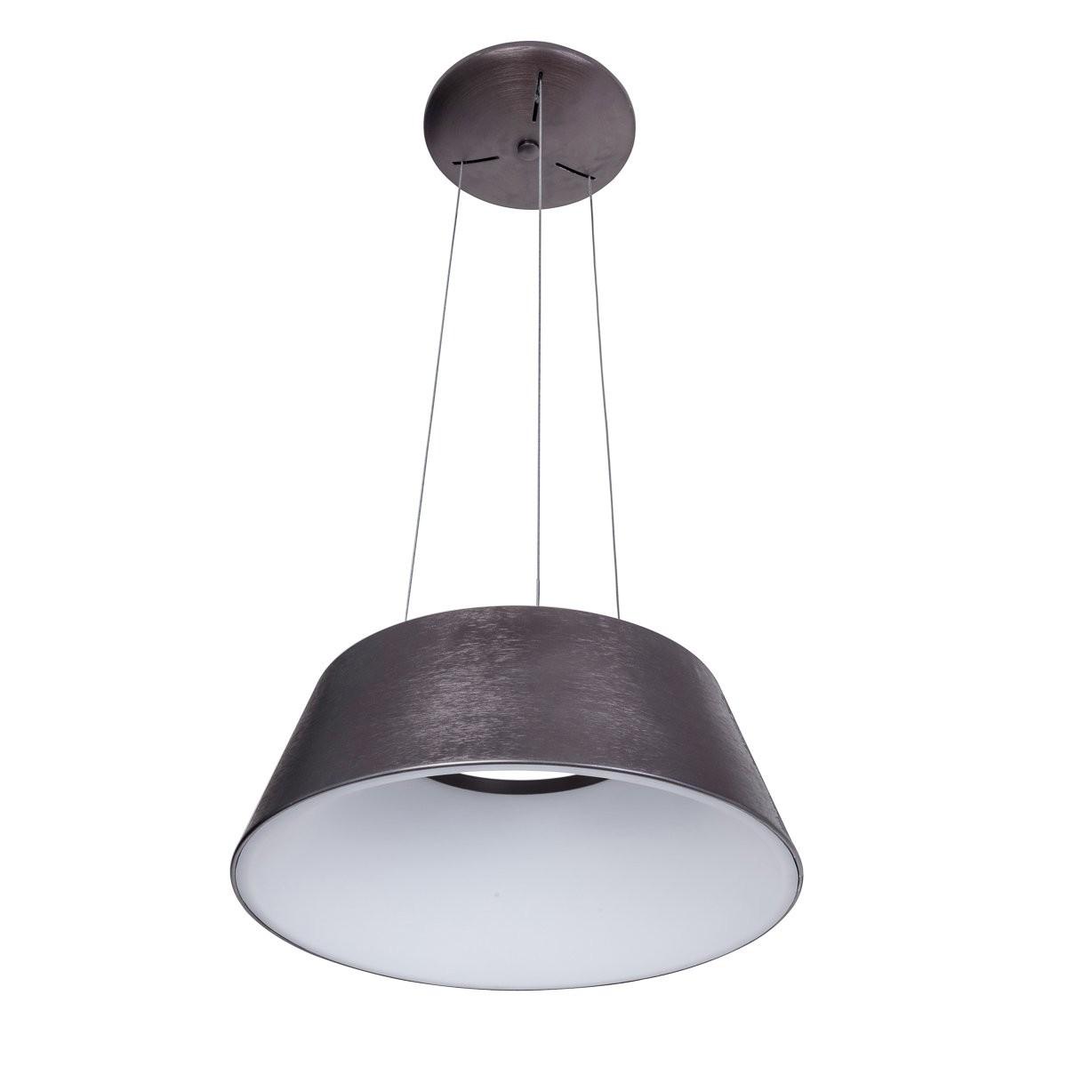 Italux 5356-840RP-BC-3 LED závěsné stropní svítidlo Lunga1x40W | 2200lm | 3000K - kávová, bílá