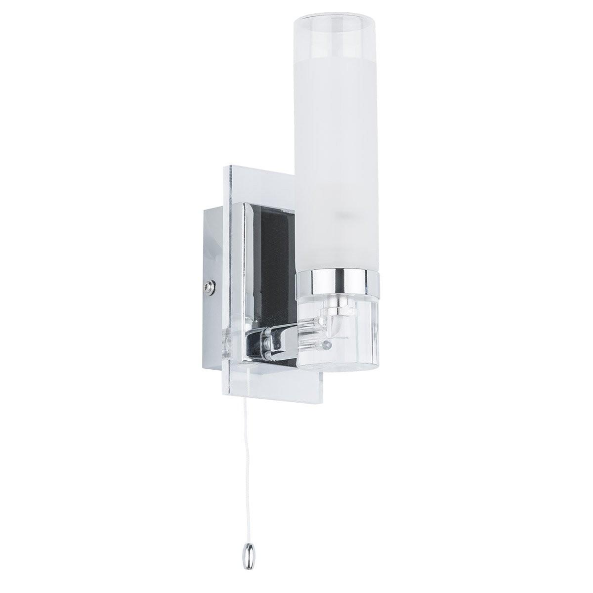 Italux MB030101-1C nástěnná lampa do koupelny Hook x40W|E14|IP44
