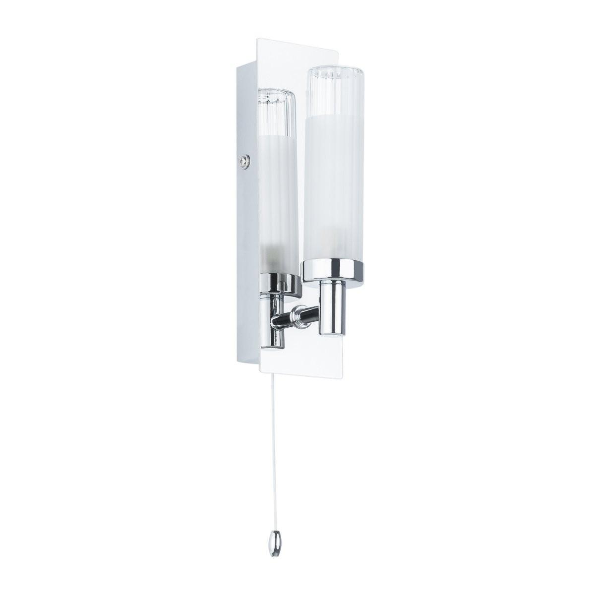 Italux MB4910-1B nástěnná lampa do koupelny Santos 1x40W|G9|IP44