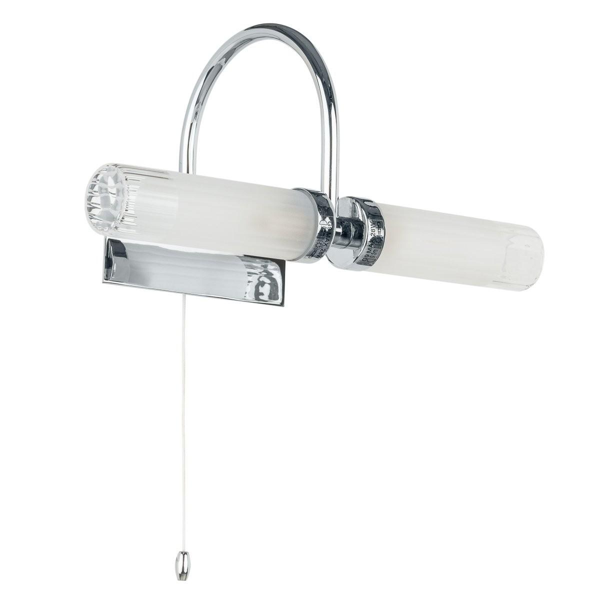 Italux MB4910-2B nástěnná lampa do koupelny Santos 2x40W|G9|IP44