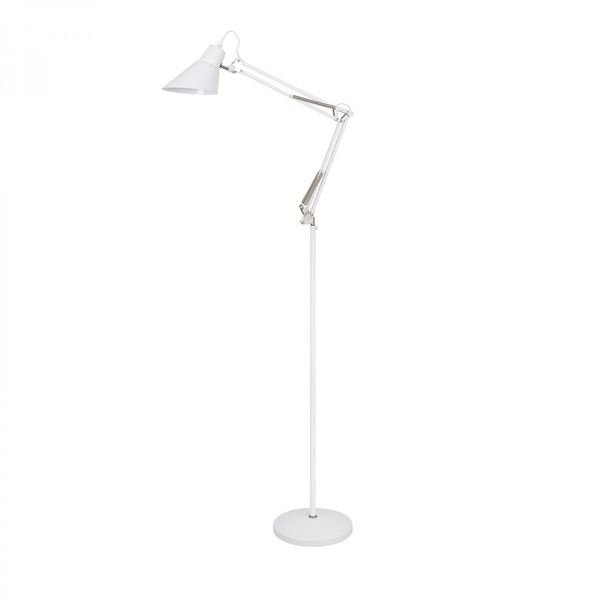 Italux ML-HN3030 WH+S.NICK stojací lampa Richard 1x40W|E27