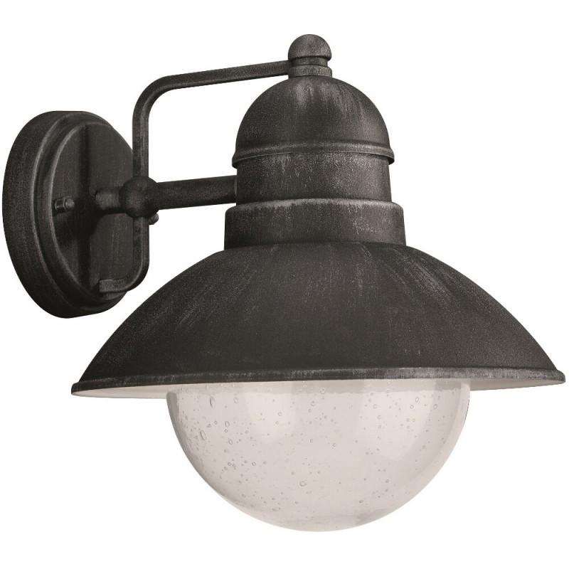 venkovní nástěnné svítidlo lampa Philips Massive 17237/54/10 - černá a kovově šedá