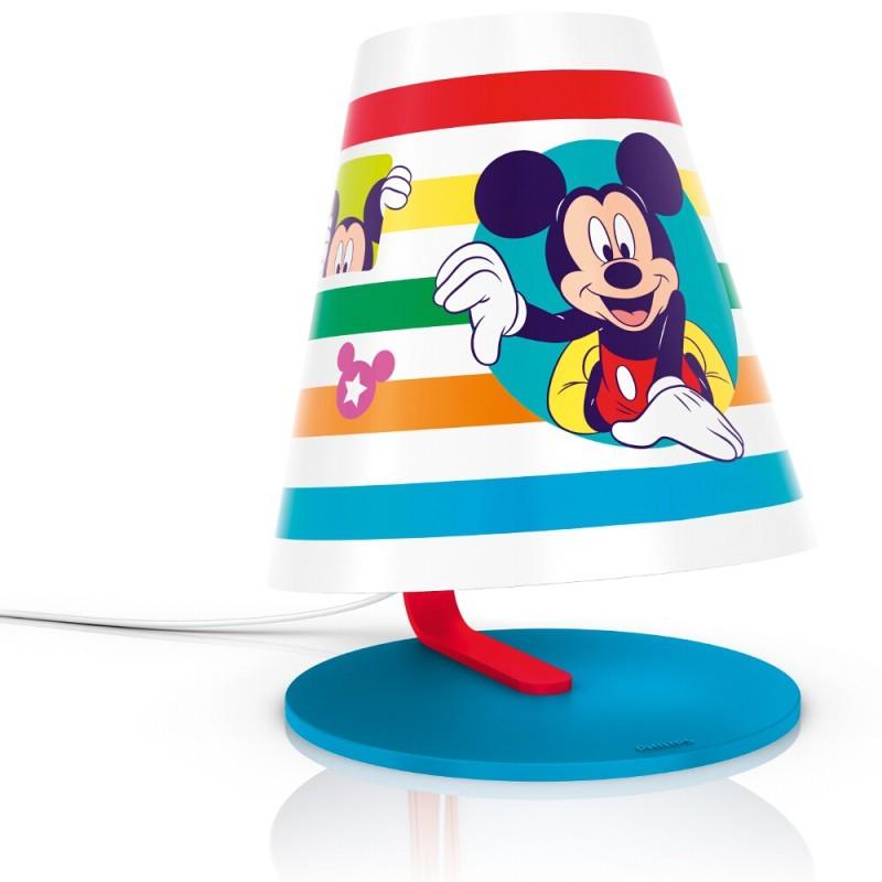 LED dětská stolní lampa Philips MICKEY MOUSE 71764/30/16 - mix barev