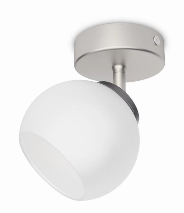 LED přisazené nástěnné a stropní svítidlo bodové Philips BALLA 53320/17/16 - matný chrom