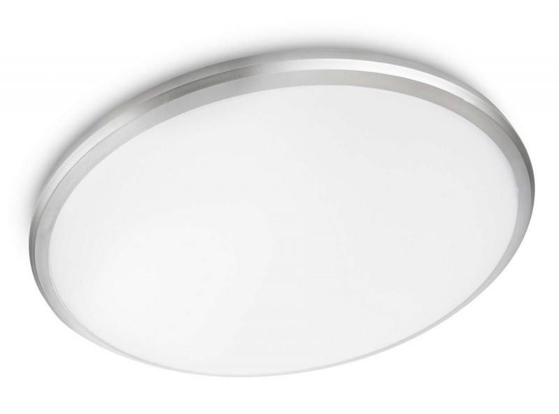 LED přisazené nástěnné a stropní svítidlo Philips TWIRLY 31815/87/16 - šedá/bílá