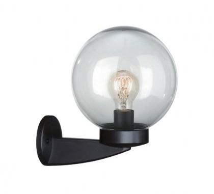 venkovní nástěnné svítidlo Philips Massive 71825/01/65 - černá kouřová