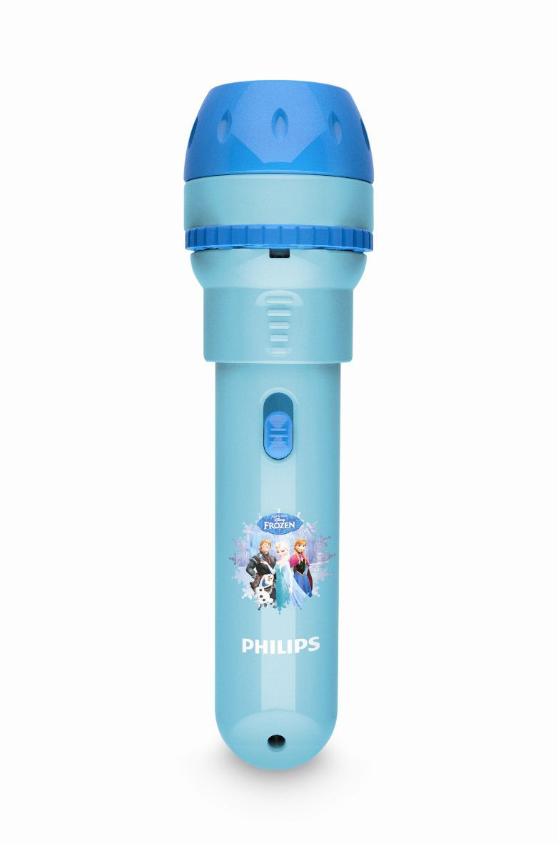 LED dětské baterka Philips FROZEN 71788/08/16 - modrá