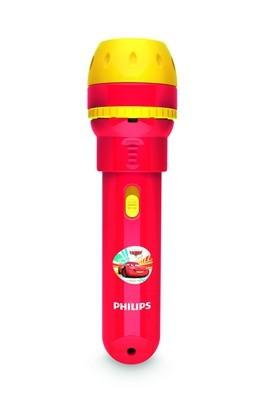LED dětská baterka baterka Philips CARS 71788/32/16 - červená