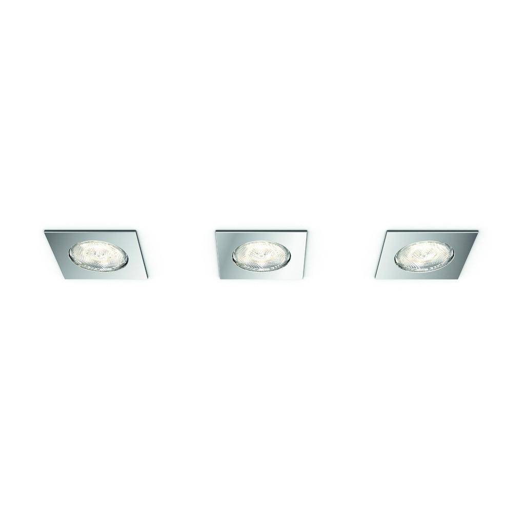 LED bodové svítidlo Philips DREAMINESS 59007/11/P0 - lesklý chrom