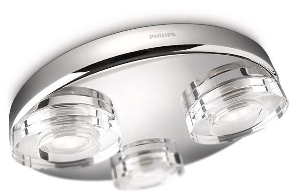 LED přisazené nástěnné a stropní svítidlo Philips MIRA 32209/11/16 - lesklý chrom
