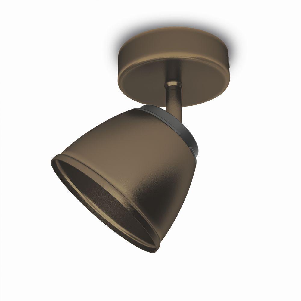 LED přisazené nástěnné a stropní svítidlo bodové lampa Philips COUNTY 53350/06/16 - bronz