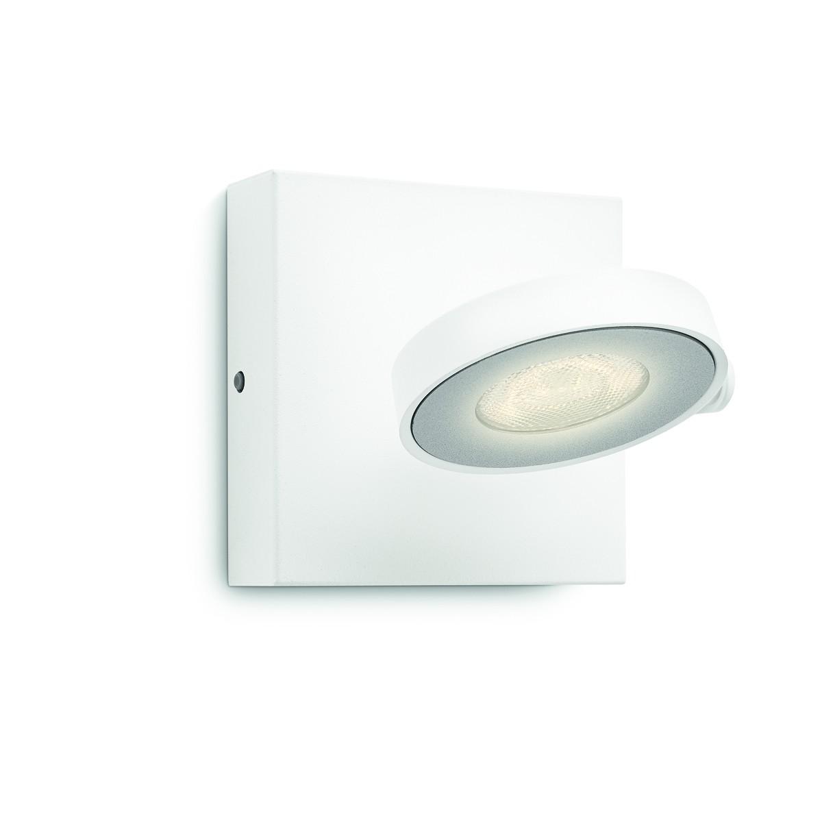 LED přisazené nástěnné a stropní svítidlo bodové Philips CLOCKWORK 53170/31/P0 - bílá