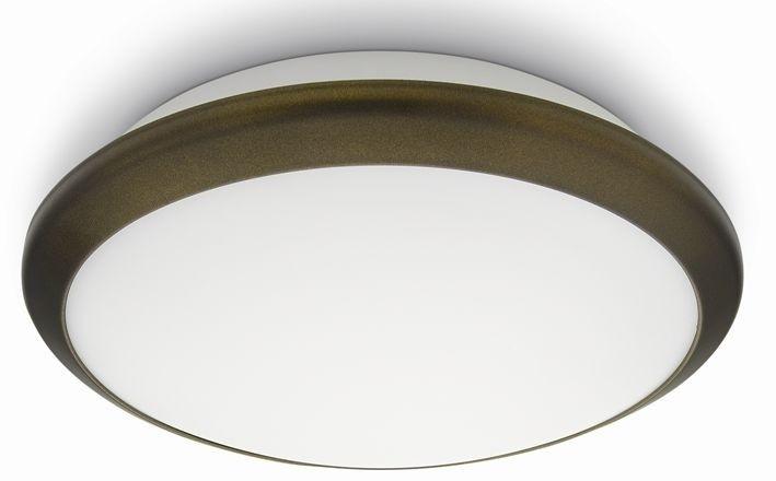 LED přisazené nástěnné a stropní svítidlo Philips 30940/06/16 - bronz
