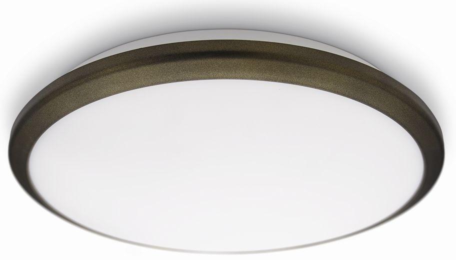 LED přisazené nástěnné a stropní svítidlo Philips 30941/06/16 - hnědá