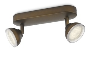 LED přisazené stropní svítidlo bodové Philips TOSCANE 53242/06/16 - hnědá
