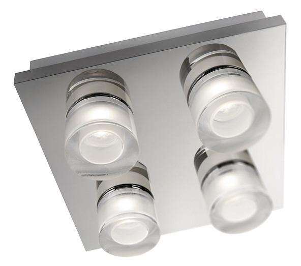 LED přisazené stropní svítidlo Philips DARIUS 37245/11/13 - lesklý chrom