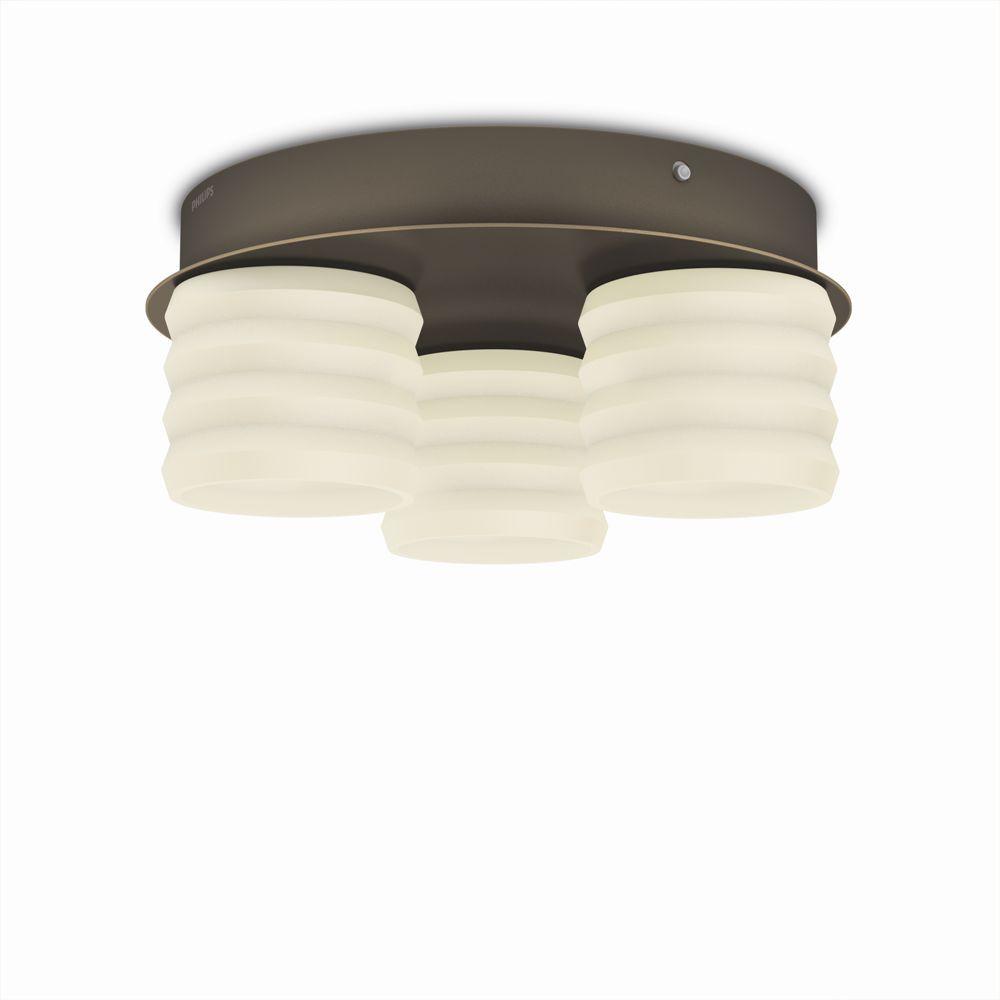 LED přisazené stropní svítidlo Philips ORTEGA 37305/06/16 - bronz